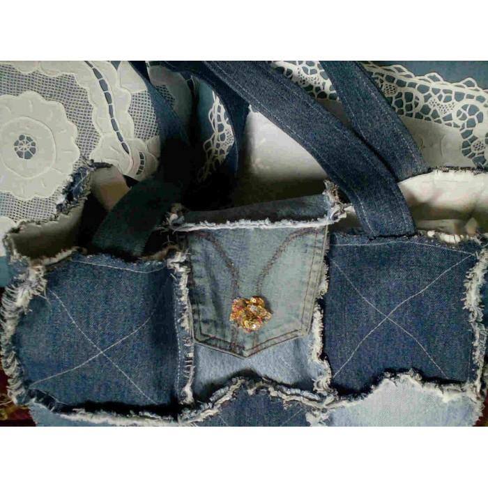 Bag rag quilt